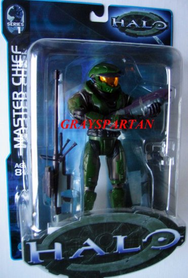 Halo 1 Series 1 Green Master Chief