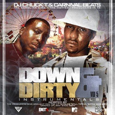DJ Chuck T - Down & Derrty Instru. Vol. 5