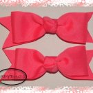 Custom Boutique hairbow - Tutti Frutti Pink