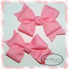 Custom Boutique hairbows - Pink - Double loop