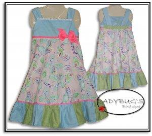 Custom Boutique dress * Butterflies 5