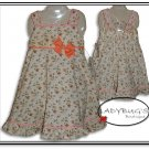 Custom Boutique dress * Romantic roses Sz 5
