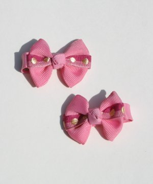 New 2 BOUTIQUE Hair clips Hair bows  PINK BOWS Hair accessories www.absolutelydaisy.ecrater.com