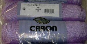 Caron Simply Soft Yarn No Dye Lot 3 oz Skeins ~ Orchid 2664
