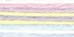 Caron Simply Soft Yarn No Dye Lot 4 oz Skein - Baby Brights 9801