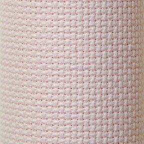 Charles Craft Classic Reserve Gold Aida Cloth ~ 14 Count 15 X 18 ~ Pink