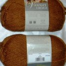 Lion Brand Vanna's Choice 1 skein ~ Honey 860-130