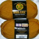 Lion Brand Wool Ease Worsted Weight 1 skein ~ Gold 620-171
