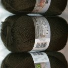 Patons Classic Wool Merino Worsted 1 Skein ~ Deep Olive 205