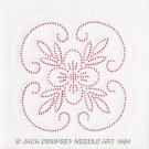 Jack Dempsey White Quilt Blocks ~ XX Floral Design 732-5