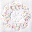 Jack Dempsey White Quilt Blocks ~ Circle of Flowers 732-305