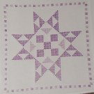 Jack Dempsey White Quilt Blocks ~ XX Patchwork Star 732-364