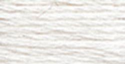 DMC Embroidery Floss 100% Cotton 8.7 yds (8 m) ~ 117-Blanc White