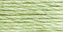 DMC Embroidery Floss 100% Cotton 8.7 yds (8 m) ~ 117-369 Very Light Pistachio Green