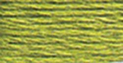 DMC Embroidery Floss 100% Cotton 8.7 yds (8 m) ~ 117-471 Very Light Avocado Green