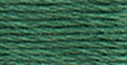 DMC Embroidery Floss 100% Cotton 8.7 yds (8 m) ~ 117-501 Dark Blue Green