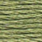 DMC Embroidery Floss 100% Cotton 8.7 yds (8 m) ~ 117-522 Fern Green