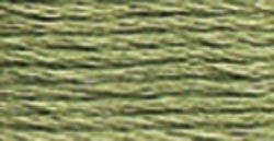 DMC Embroidery Floss 100% Cotton 8.7 yds (8 m) ~ 117-522 Fern Green