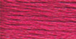 DMC Embroidery Floss 100% Cotton 8.7 yds (8 m) ~ 117-601 Dark Cranberry