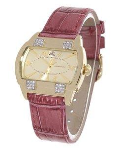 JLO Women's Goldtone Dial Crystal Watch