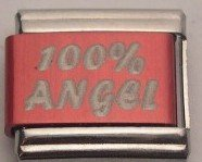 100% ANGEL COLOR LASER ITALIAN CHARM/CHARMS FOR ZOPPINI