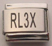 LASER DOG RALLY SPORT TITLE RL3X ITALIAN CHARM/CHARMS