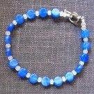 Bracelet -Blue & Clear #B0086