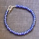 Bracelet -Metallic blue #B0083