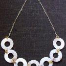 Mop Rings Necklace #N009