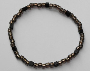 Brown & Black Bracelet #B0081