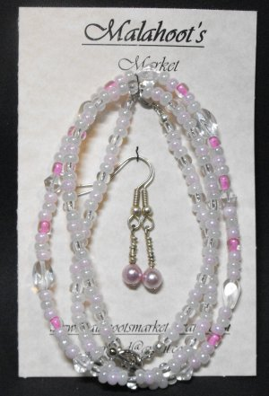 Necklace, Bracelet & Earing Set #NBES0060