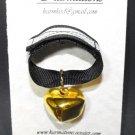 Bear Bell Med Gold-   #BBMG