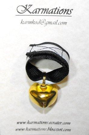 Bear Bell Small Gold-   #BBSG