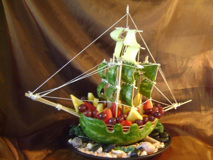 Rima Fruit Boat