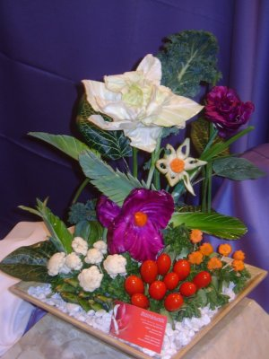 Rima Veggie Flowers