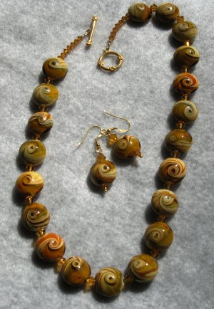 Mustard Yellow Necklace