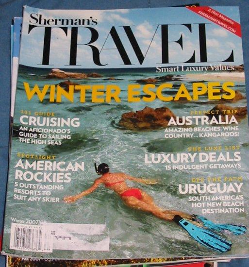 Sheman's Travel Magazine Winter 2007 Issue