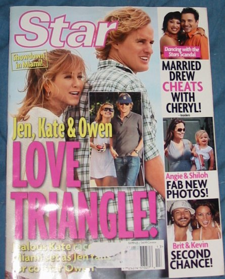 Star Magazine Jen, Kate, & Owan March 31st 2008 Issue