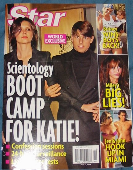 Star Magazine Katie and Tom May 13th, 2008 Issue