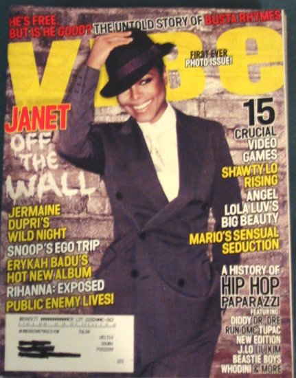 Vibe Magazine Janet Jackson Cover April 2008 Issue
