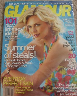 Glamour Magazine Charlize Theron July 2008 Cover