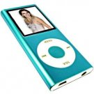 1.8-inch TFT 2G 2ND MP4 with FM Radio, Video and Recorder Blue