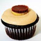 Custom Chocolate PB Cup cupcakes