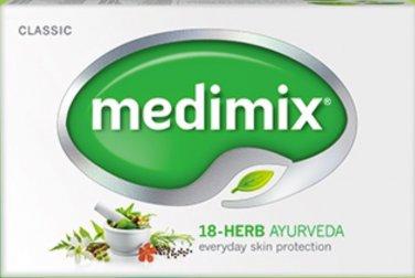 Medimix Ayurvedic Soap with 18 herbs 125g