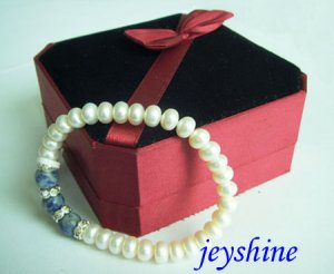 Natural pearl Barcelets from china !