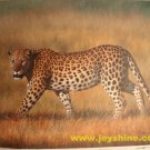 Handmade oil painting - Leopard