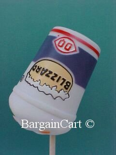Dairy Queen Blizzard Antenna Topper  Ball