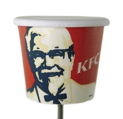 Kentucky Fried Chicken Bucket Antenna Topper Ball KFC