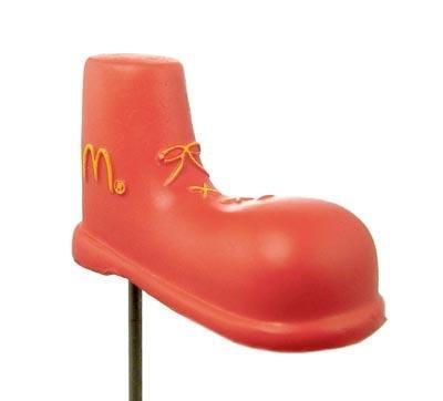 McDonald's Red Shoe ANTENNA TOPPER BALL