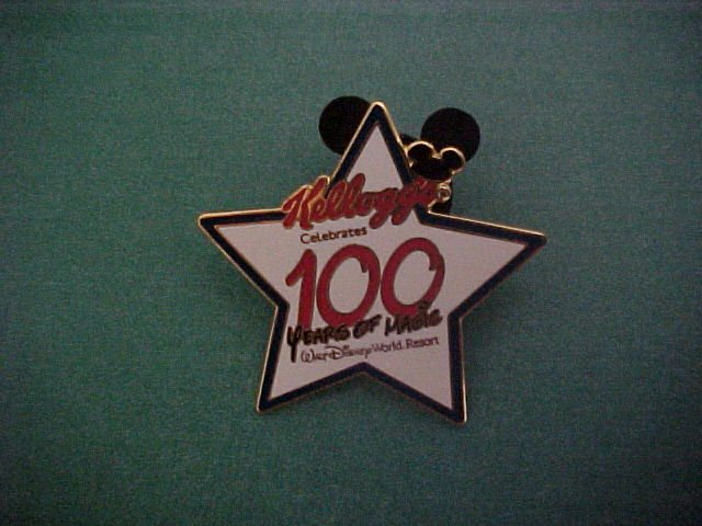Disney-Kellogg's 100 Years Pin